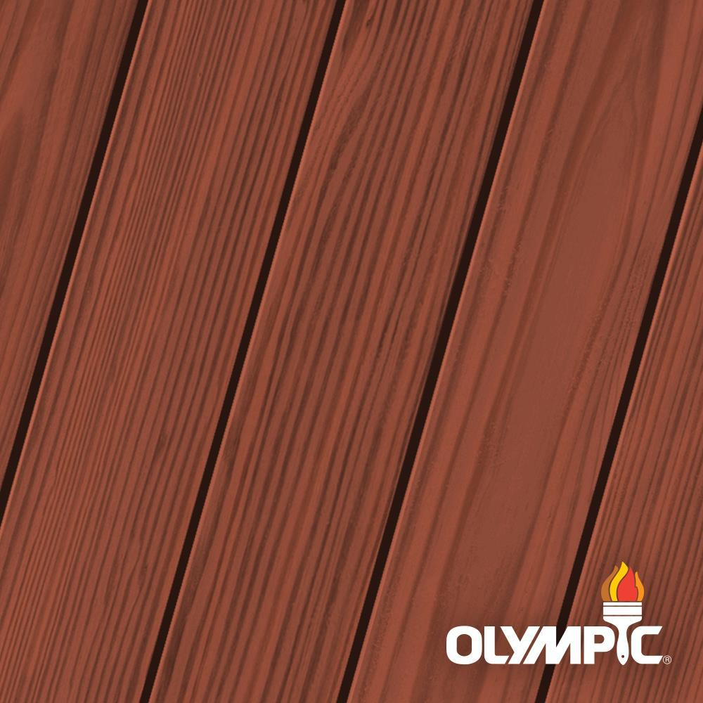 Olympic Elite 8-oz. Cumaru ESS4 Semi-Solid Exterior Stain and Sealant in One Low VOC