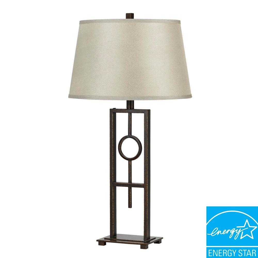 CAL Lighting 30 in. Tilden Iron Table Lamp-DISCONTINUED
