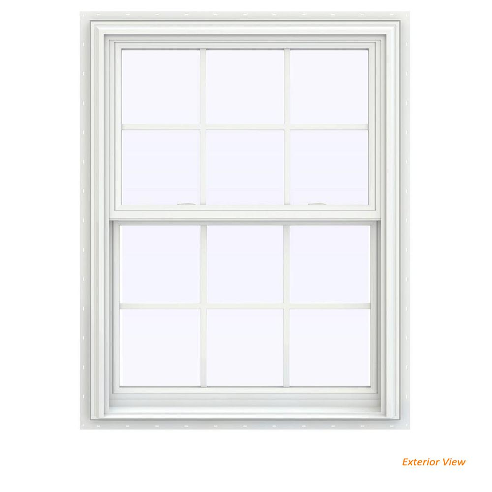 Jeld Wen 31 5 In X 35 V 2500 Series White Vinyl