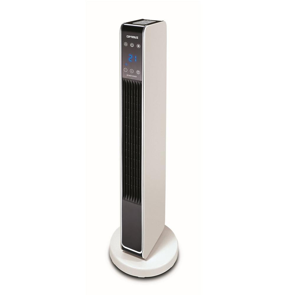 Optimus 29 In Oscillating Tower Ceramic Heater With