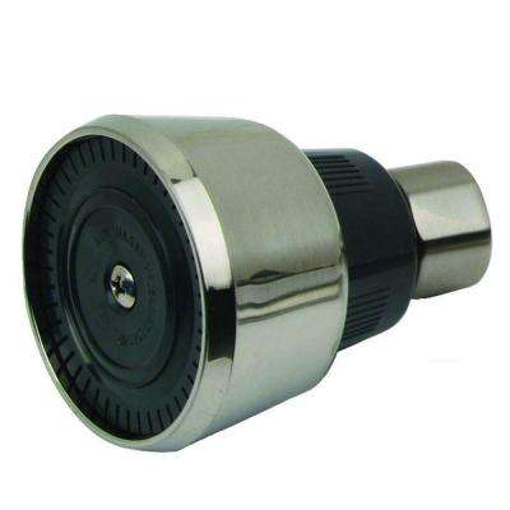 Mixet 1-Spray WaterSense 1.93 in. Showerhead in PVD Satin Nickel