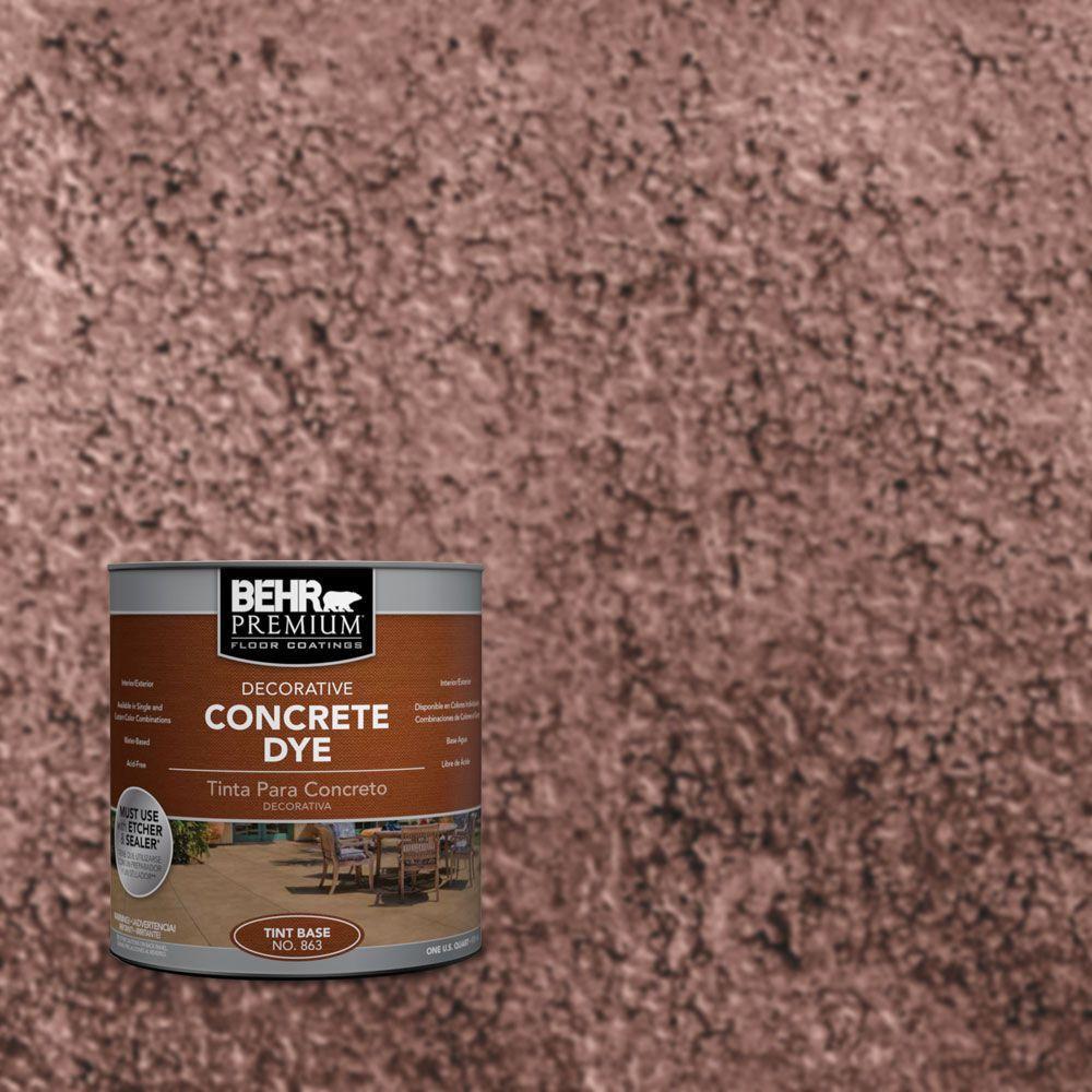 BEHR Premium 1 qt. #CD-805 Grape Royale Concrete Dye