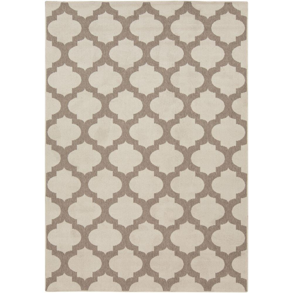 Artistic Weavers Aggie Beige 6 ft. x 9 ft. Indoor/Outdoor Area Rug