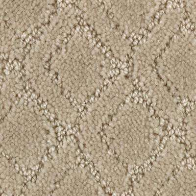 Carpet Sample - Coastal Lagoon II - Color Softer Textured 8 in. x 8 in.