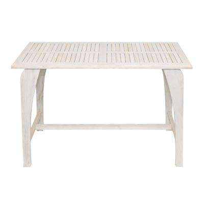 Tranquility Driftwood Solid Teak Indoor/Outdoor Dining Table