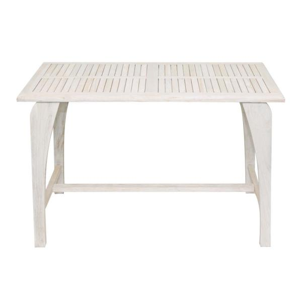 Tranquility Driftwood Solid Teak Indoor Outdoor Dining Table