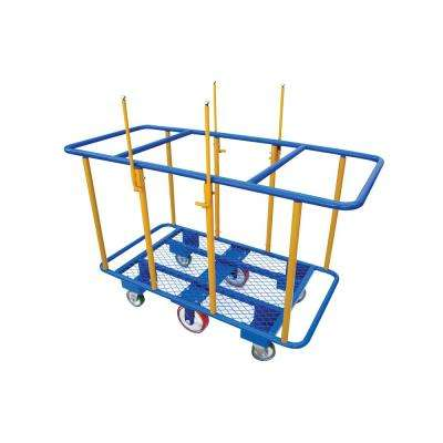 2,000 lb. 64 in. x 31 in. Horizontal Panel Cart