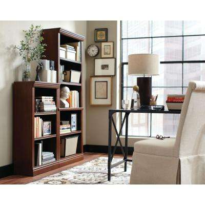3-Shelf Decorative Bookcase in Dark Brown