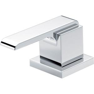 Delta Pair of Ara Metal Lever Handles in Chrome by Delta
