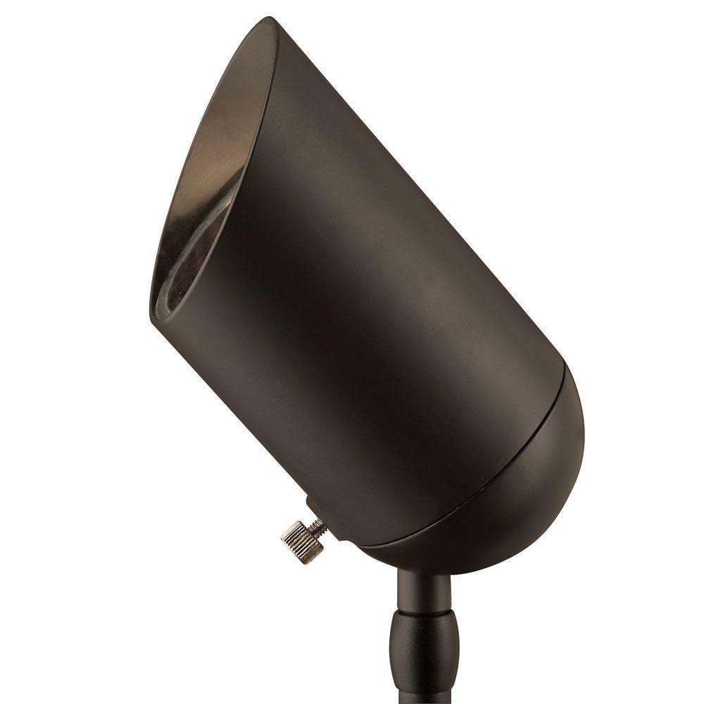 Hinkley Lighting Low Voltage Bronze 75-Watt MR16 Cast Aluminum Spot Light -DISCONTINUED