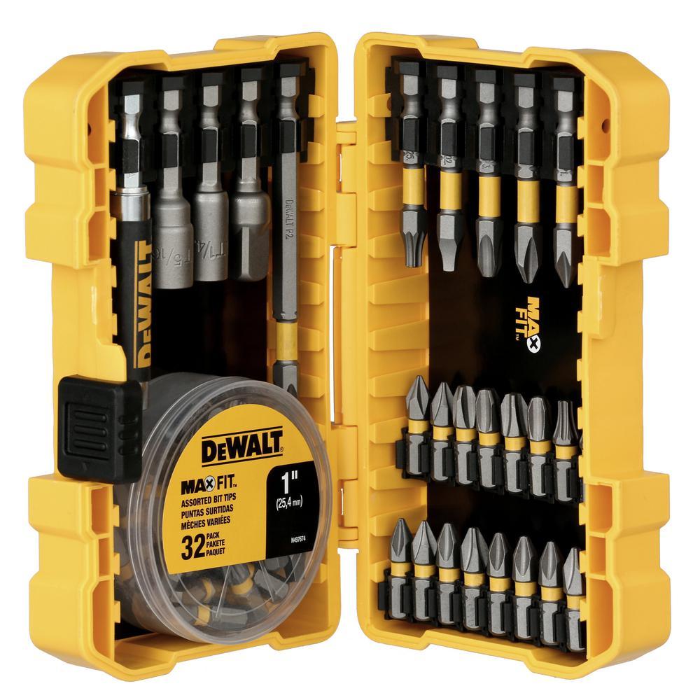 DEWALT Screwdriving Screwdriver Set 15 Piece Tool Bit Drill Bits #2 Square Steel