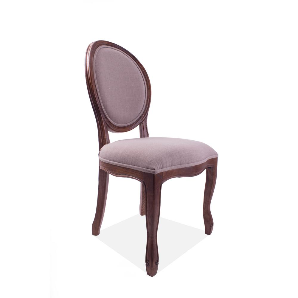 Medallion Cinnamon Side Chair (Set of 2)