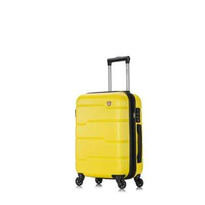 Rodez 20 in. Yellow Lightweight Hardside Spinner Carry-on