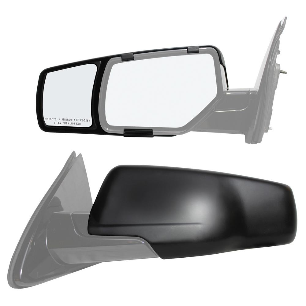 Snap Zap Clip On Towing Mirror Set For 2015 2018 Chevrolet