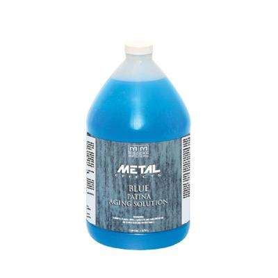 1 gal. Metal Effects Blue Patina Aging Solution