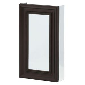 Charmant Framed Recessed Or Surface Mount Bathroom Medicine Cabinet In Oil Rubbed  Bronze SP4607   The Home Depot