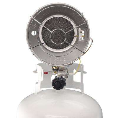 15,000 BTU Single Burner Propane Radiant Tank Top Heater