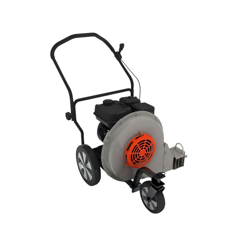 Beast 212-cc 4-Cycle 155-MPH 1250-CFM Walk-Behind Gas Leaf Blower in Gray | LB1M20
