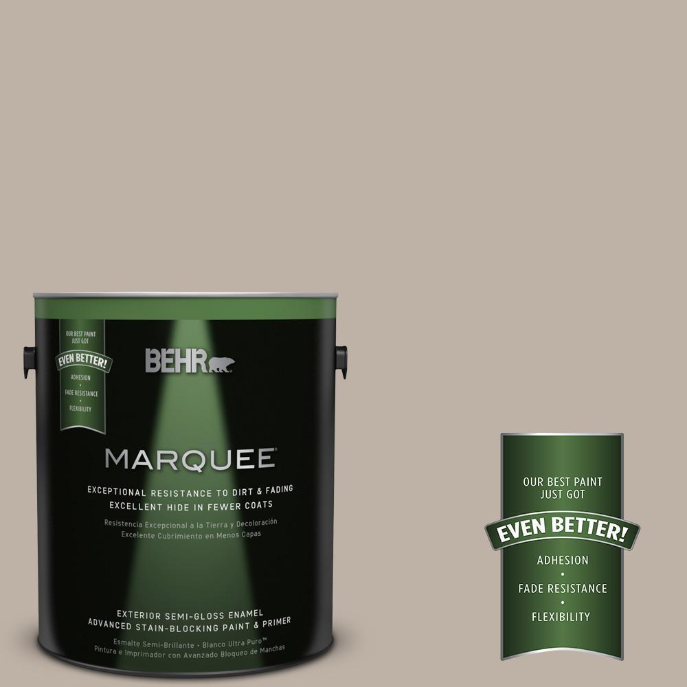 1-gal. #N220-3 Smokestack Semi-Gloss Enamel Exterior Paint