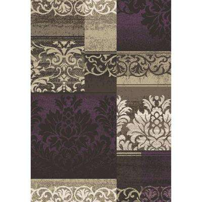 Casa Collection Capri Amethyst 8 ft. x 11 ft. Area Rug