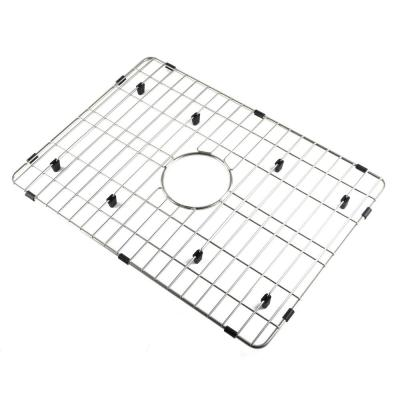 ABGR24 21.88 in. Grid Kitchen Sink ABF2418 in Brushed Stainless Steel