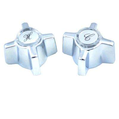 Tub And Shower Handle Pair For Sterling Faucets In Chrome Finish