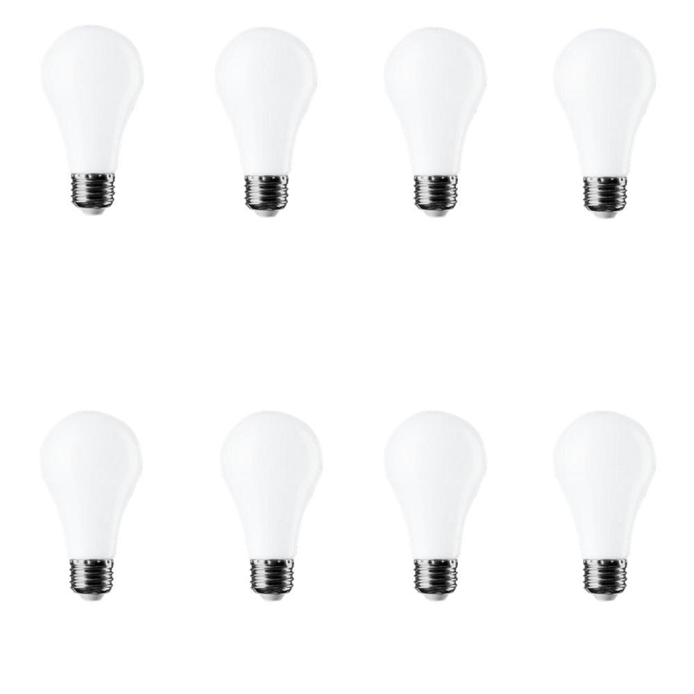 60W Equivalent Daylight A19 LED Light Bulb (8-Pack)