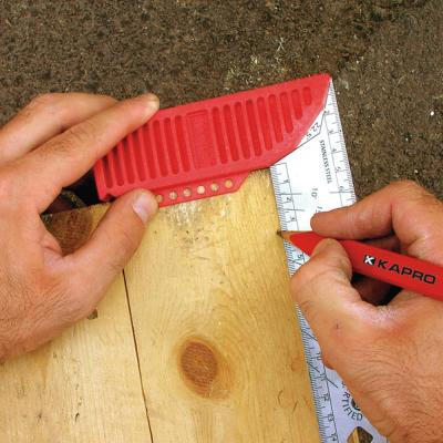 8 in. Try and Mitre Square with Stainless Steel Blade