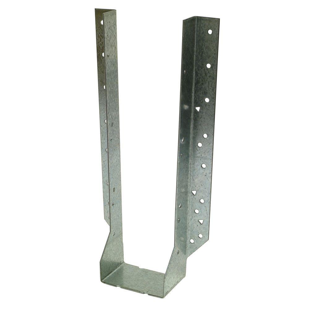 HU Galvanized Face-Mount Joist Hanger for 4x16 Nominal Lumber