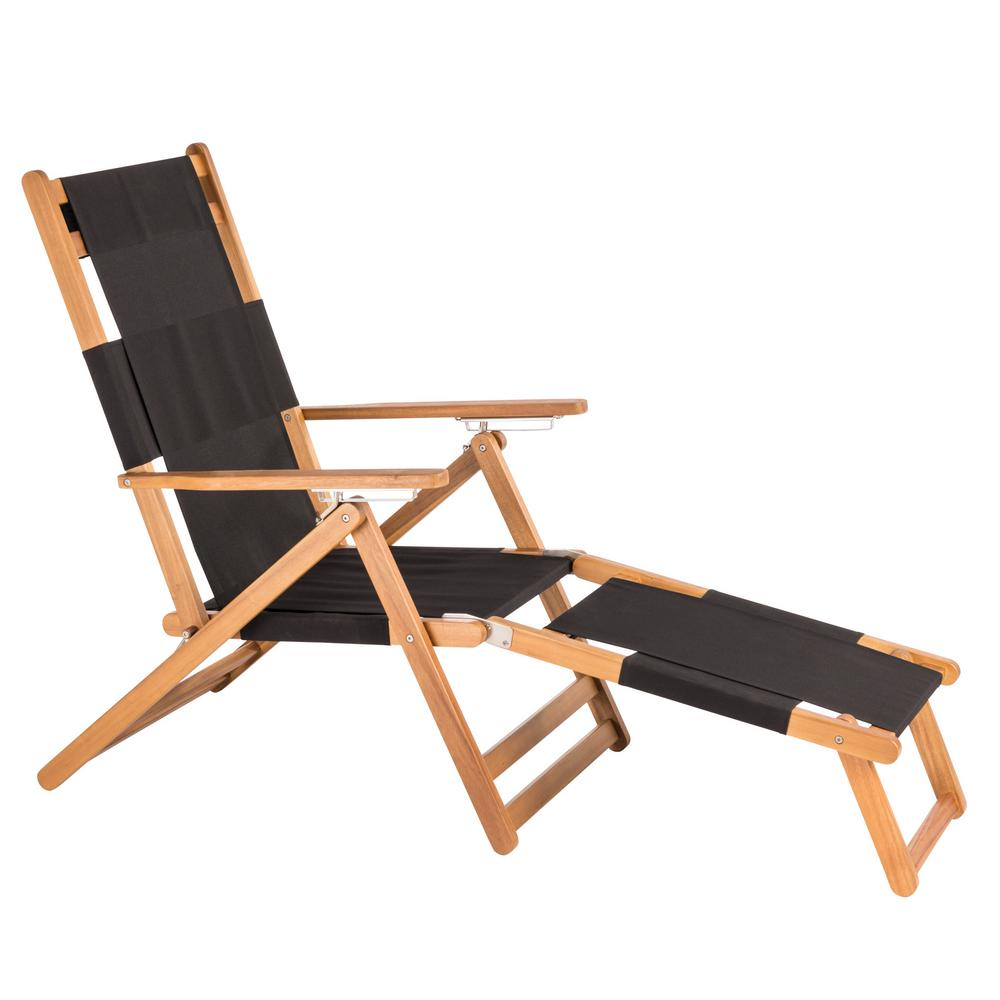 Merveilleux Patio Sense Varadero Wood Folding And Reclining Beach Chair