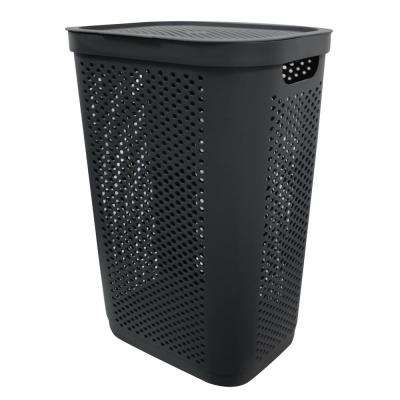 Modern Homes 60 L Laundry Hamper Grey