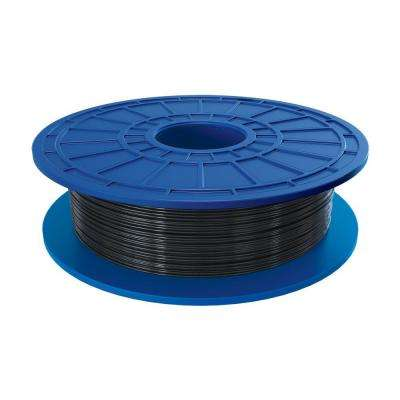 1.1 lbs. Black PLA Filament for 3D Idea Builder Printer