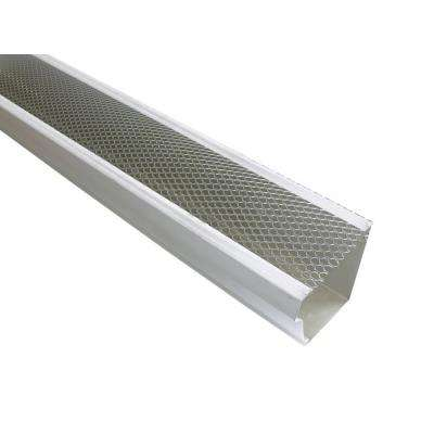 6 in. x 4 ft. Armour Screen Lock-On Gutter Guard (25/Pro-Pack)