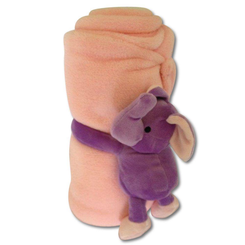 Elephant Polyester Micro Plush Throw