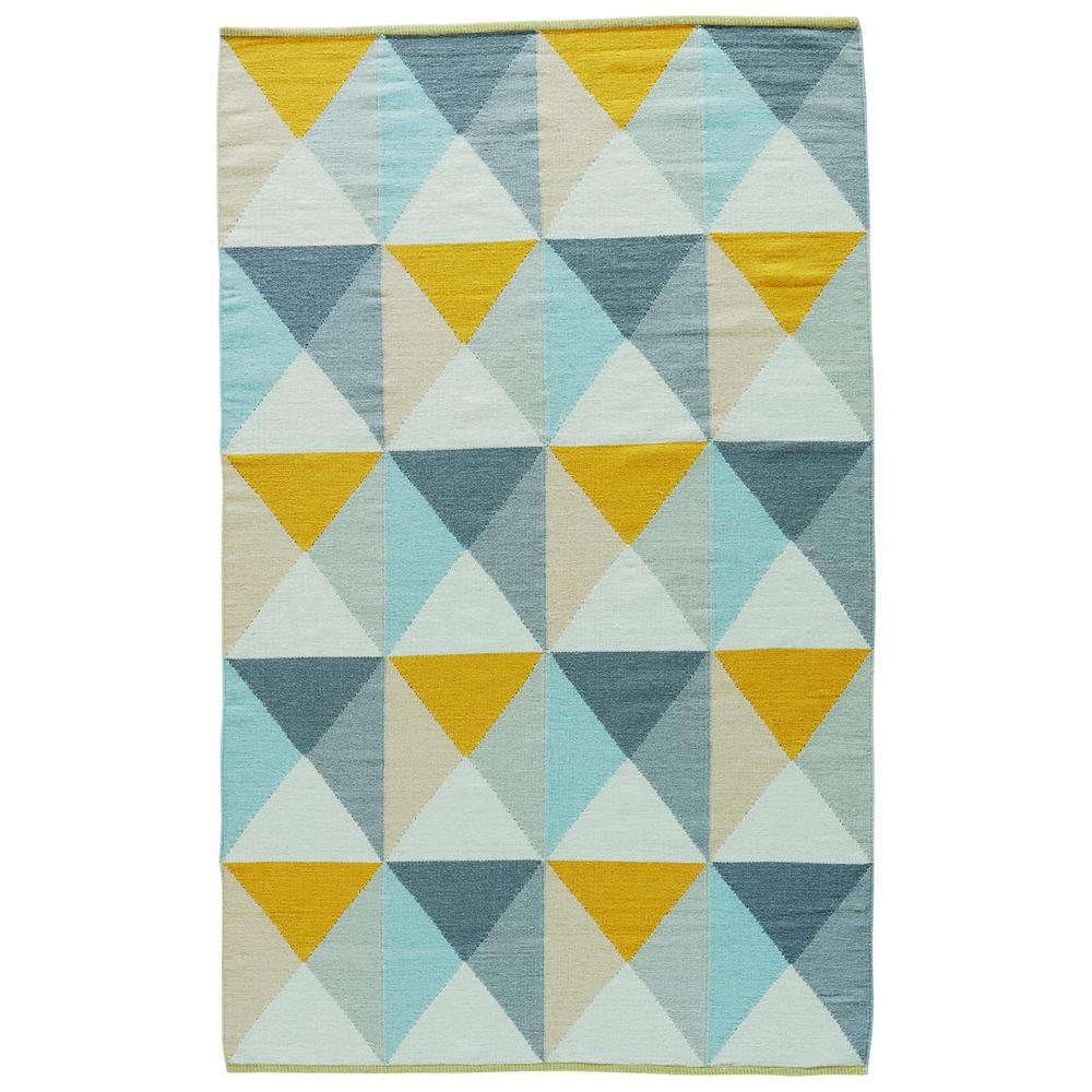 Jaipur rugs mimosa 8 ft x 11 ft geometric area rug for Geometric print area rugs