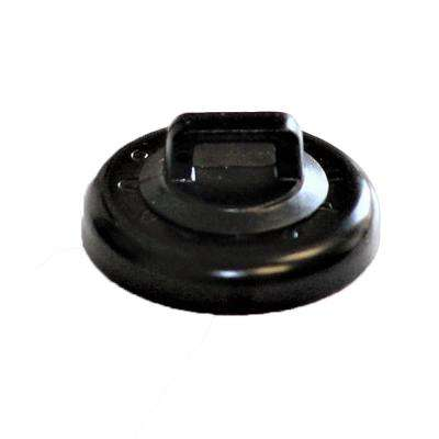 15 LB MAGNETIC CABLE TIE MOUNT BLACK (10 PACK)