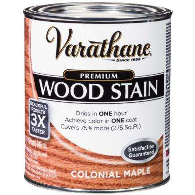 1 qt. Colonial Maple Premium Fast Dry Interior Wood Stain