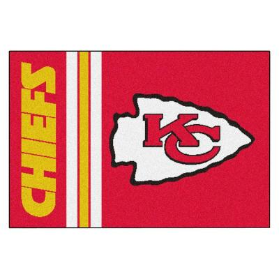 NFL - Kansas City Chiefs Red Uniform Inspired 2 ft. x 3 ft. Area Rug