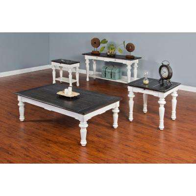 European Cottage 2 Tone Finish Coffee Table