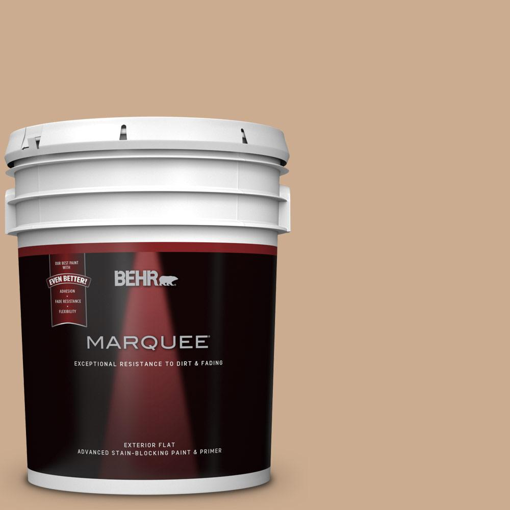 behr marquee 5 gal n250 3 pottery wheel flat exterior paint and primer in one 445405 the. Black Bedroom Furniture Sets. Home Design Ideas