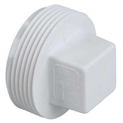 2 in. PVC DWV MIPT Cleanout Plug