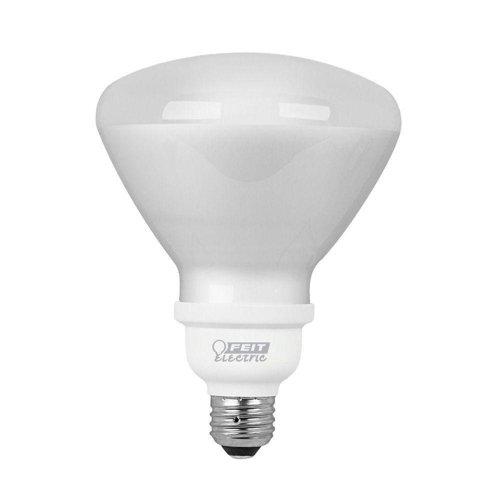 Feit Electric 90W Equivalent Soft White (2700K) R40 CFL Flood Light Bulb (12-Pack)