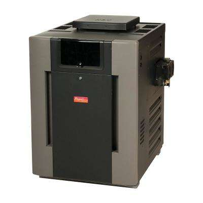 206,000 BTU Digital Natural Gas Pool Heater for High Altitude 2,000-6,000 ft.