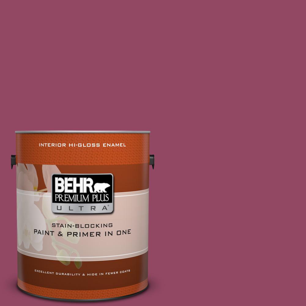 1 gal. #P120-7 Glitterati Hi-Gloss Enamel Interior Paint