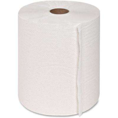 Hard-Wound Roll Paper Towels (6 Rolls)