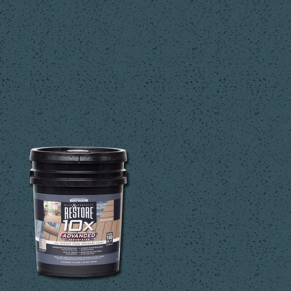4 gal. 10X Advanced Cobalt Deck and Concrete Resurfacer