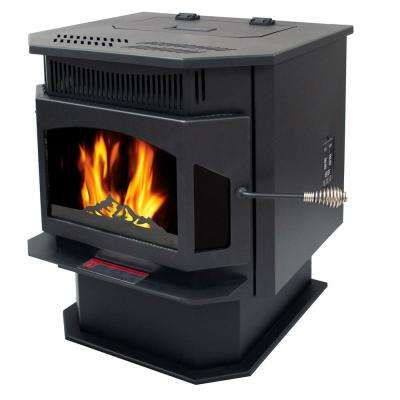 2,000 sq. ft. Pellet Stove with 45 lbs. Hopper and Auto Ignition