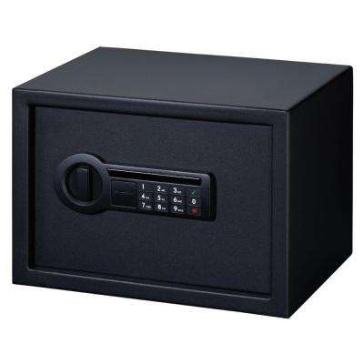 0.60 cu. ft. All Steel Personal Safe with Electronic Lock, Black