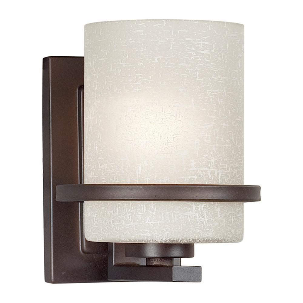 Wall Sconces That Shine Up And Down: Filament Design 1-Light Antique Bronze Sconce With Umber
