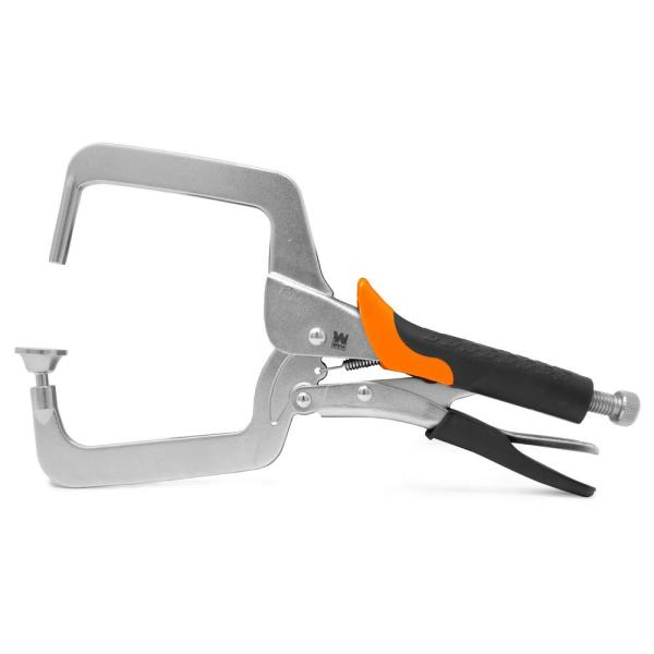 4 in. Right Angle Clamp for Woodworking and Pocket Hole Joinery